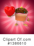 Cupcake Character Clipart #1386610 by Julos