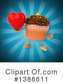 Cupcake Character Clipart #1386611 by Julos