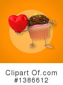 Cupcake Character Clipart #1386612 by Julos