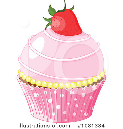 Cupcake Clipart #1081384 by Pushkin