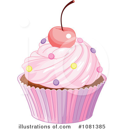Cupcake Clipart #1081385 by Pushkin