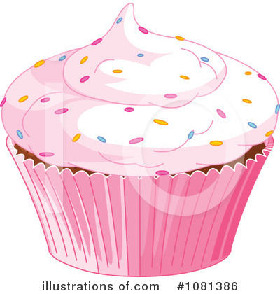 Cupcake Clipart #1081386 by Pushkin