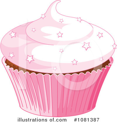 Cupcake Clipart #1081387 by Pushkin