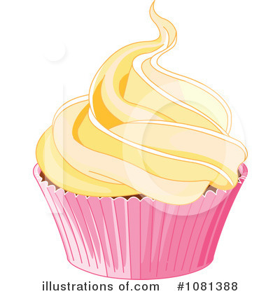 Cupcake Clipart #1081388 by Pushkin