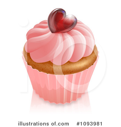 Cupcake Clipart #1093981 by AtStockIllustration