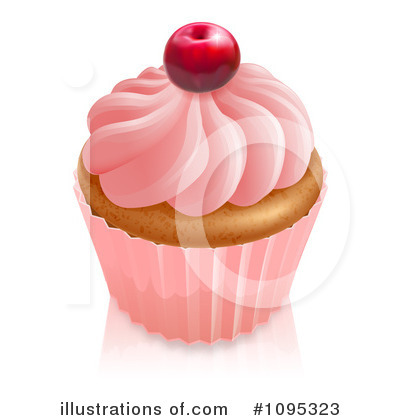 Cupcake Clipart #1095323 by AtStockIllustration