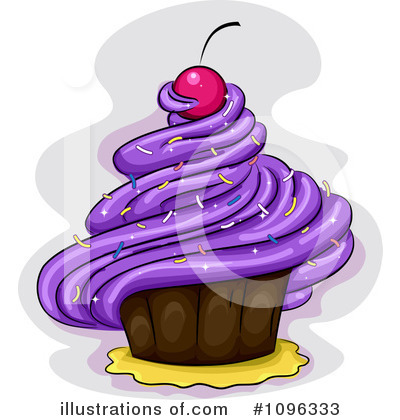 Cupcakes Clipart #1096333 by BNP Design Studio