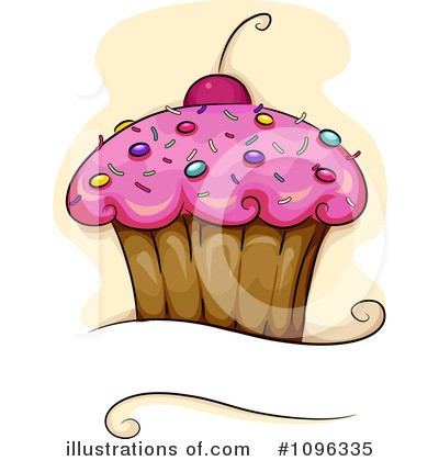 Cupcakes Clipart #1096335 by BNP Design Studio