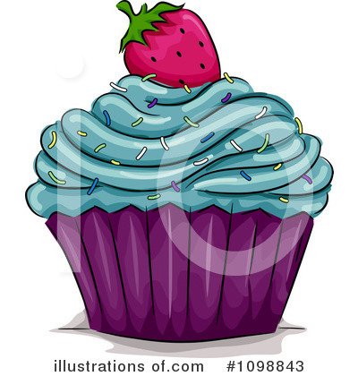 Cupcakes Clipart #1098843 by BNP Design Studio
