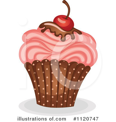 Cupcake Clipart #1120747 by Graphics RF