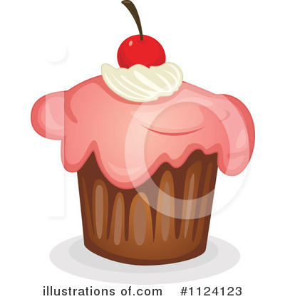 Cupcake Clipart #1124123 by Graphics RF