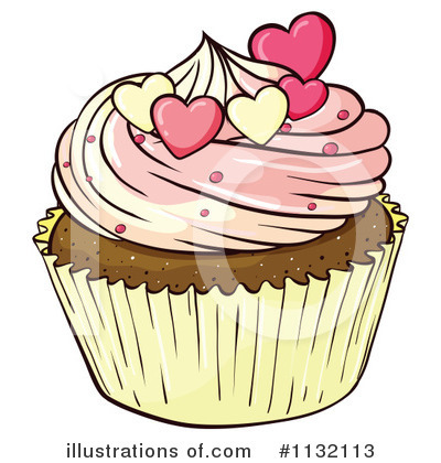 Cupcake Clipart #1132113 by Graphics RF