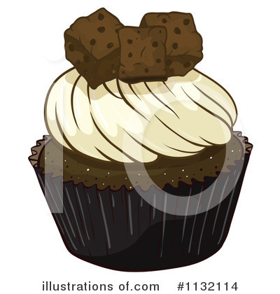 Cupcake Clipart #1132114 by Graphics RF
