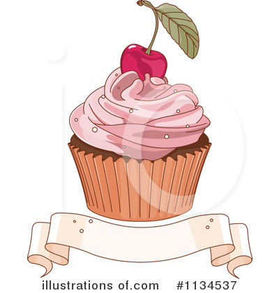 Cupcake Clipart #1134537 by Pushkin