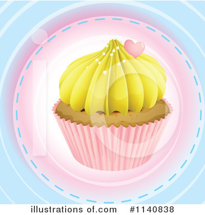 Cupcake Clipart #1140838 by Graphics RF