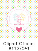 Royalty-Free (RF) Cupcake Clipart Illustration #1167541