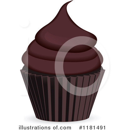 Royalty-Free (RF) Cupcake Clipart Illustration by elaineitalia - Stock Sample #1181491