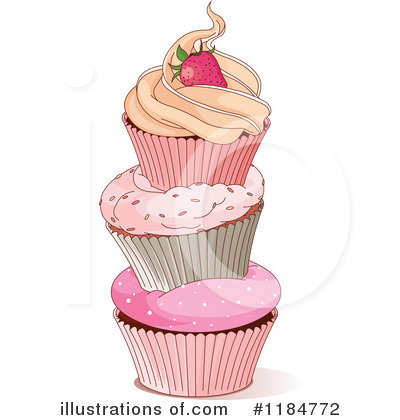 Cupcake Clipart #1184772 by Pushkin