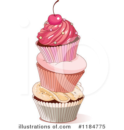 Cupcake Clipart #1184775 by Pushkin