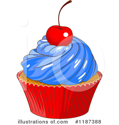 Cupcake Clipart #1187388 by Pushkin