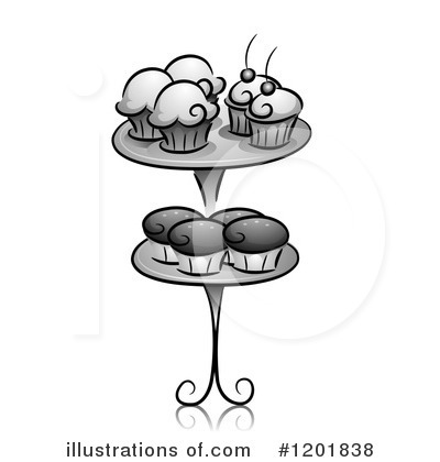 Cupcakes Clipart #1201838 by BNP Design Studio