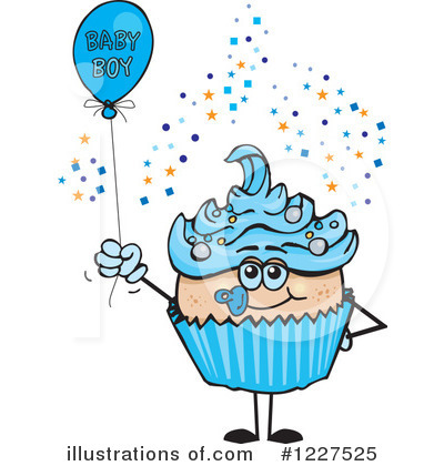 Baby Shower Clipart #1227525 by Dennis Holmes Designs