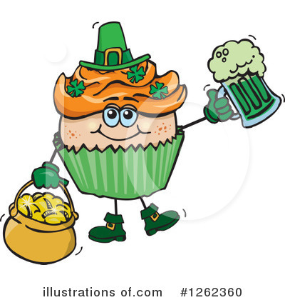 Leprechaun Clipart #1262360 by Dennis Holmes Designs
