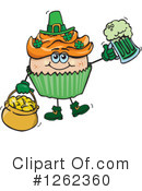 Royalty-Free (RF) Cupcake Clipart Illustration #1262360