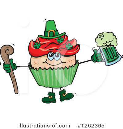 Leprechaun Clipart #1262365 by Dennis Holmes Designs