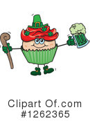 Royalty-Free (RF) Cupcake Clipart Illustration #1262365
