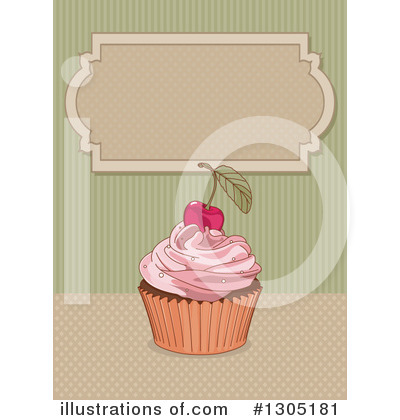 Cupcake Clipart #1305181 by Pushkin