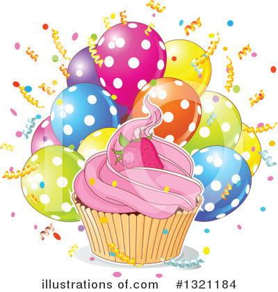 Birthday Party Clipart #1321184 by Pushkin