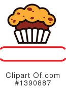 Cupcake Clipart #1390887 by Vector Tradition SM