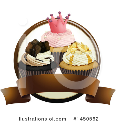 Cupcake Clipart #1450562 by Graphics RF