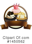 Royalty-Free (RF) Cupcake Clipart Illustration #1450562