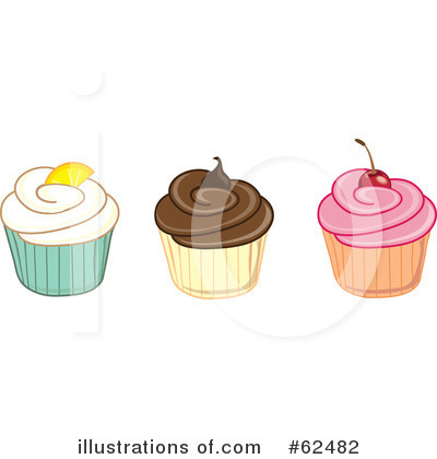Cake Clipart #62482 by Pams Clipart