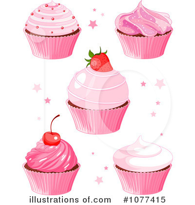 Cupcake Clipart #1077415 by Pushkin