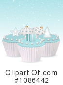 Royalty-Free (RF) Cupcakes Clipart Illustration #1086442