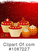 Royalty-Free (RF) Cupcakes Clipart Illustration #1087227