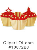 Royalty-Free (RF) Cupcakes Clipart Illustration #1087228