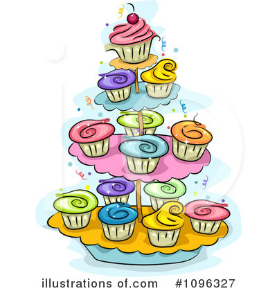 Cake Clipart #1096327 by BNP Design Studio
