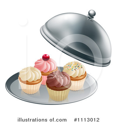Cupcake Clipart #1113012 by AtStockIllustration