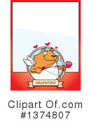 Cupid Cat Clipart #1374807 by Cory Thoman