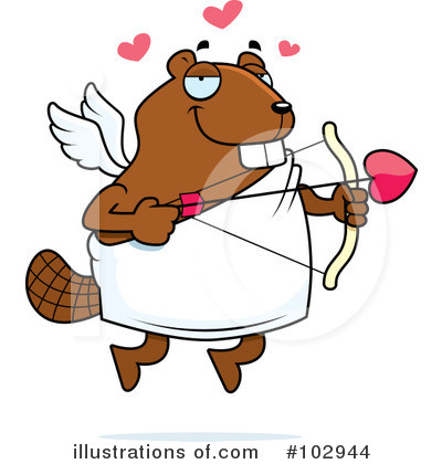 Beaver Clipart #102944 by Cory Thoman