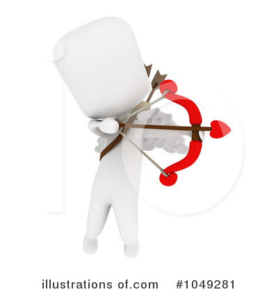 Royalty-Free (RF) Cupid Clipart Illustration by BNP Design Studio - Stock Sample #1049281