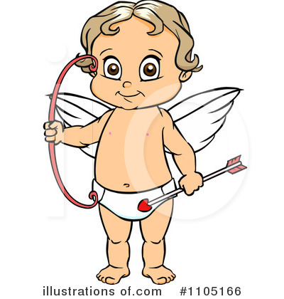 Cupid Clipart #1105166 by Cartoon Solutions