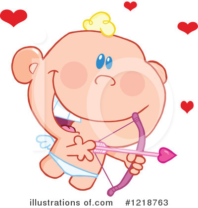 Cupid Clipart #1218763 by Hit Toon