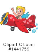 Royalty-Free (RF) Cupid Clipart Illustration #1441759