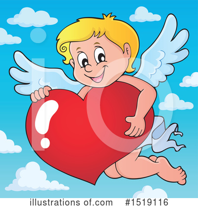 Cupid Clipart #1519116 by visekart