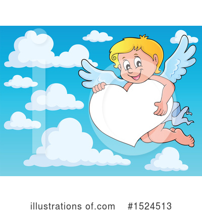 Cupid Clipart #1524513 by visekart